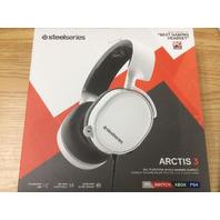 Steel series Arctis 3 Gaming Headset White