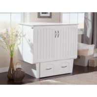 Nantucket Murphy Bed Chest With Charging Station (READ)