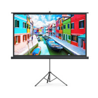taotronics 100'' Projector Screen with Stand HP021, Upgraded Indoor Outdoor Use