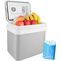 AstroAI Electric Car Cooler, 26 Quarts/ 24 Liter Portable Thermoelectric