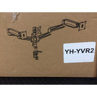 HUANUO Triple Monitor Mount w/ Gas Spring Arms