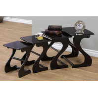 Cherry 4-Piece Nesting End Table