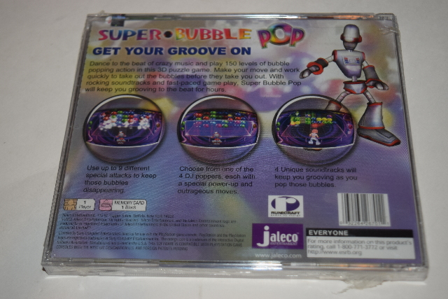 Super Bubble Pop Playstation PS1 Video Game New Sealed | eBay