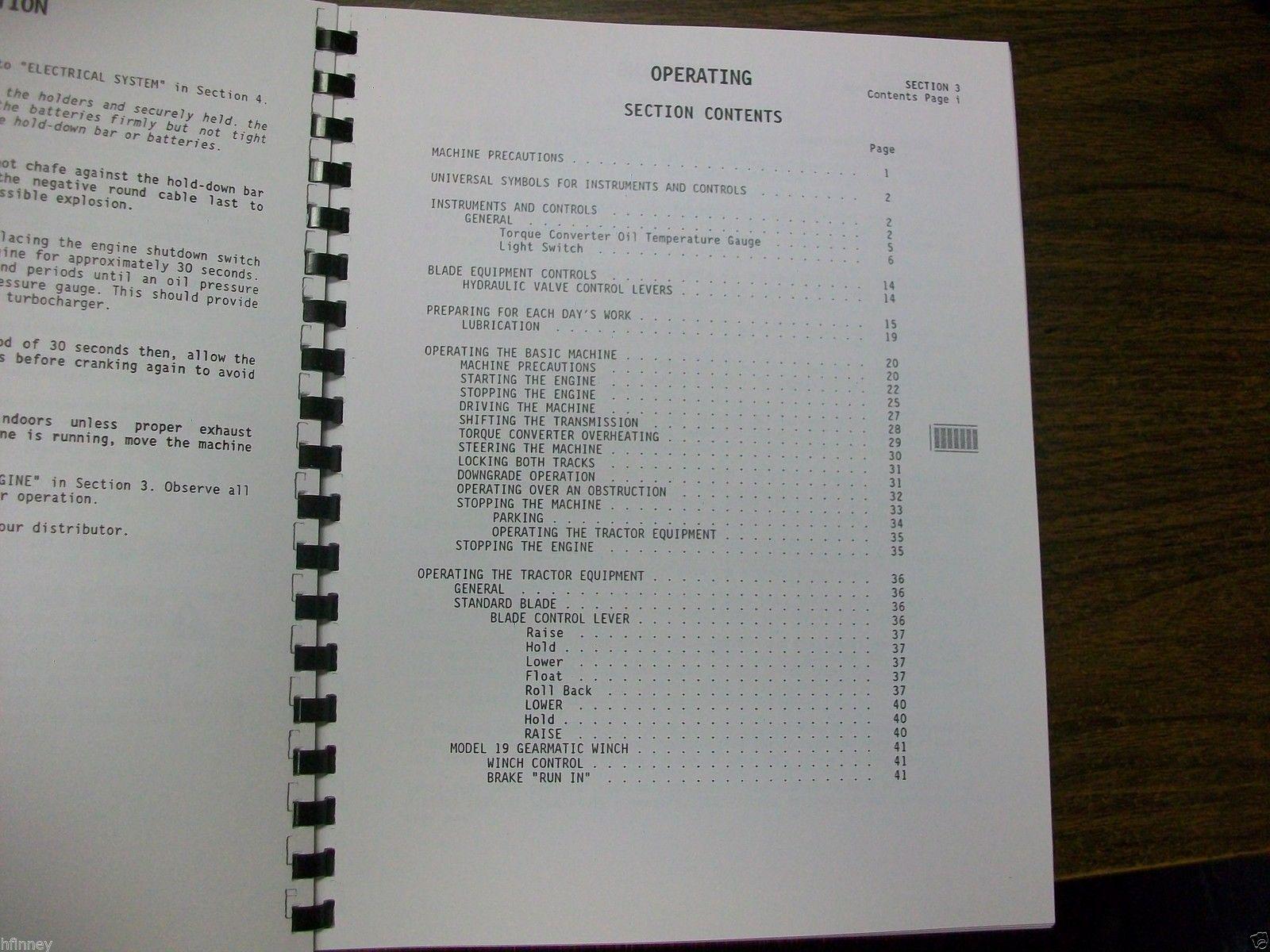 Dresser td7g repair manual