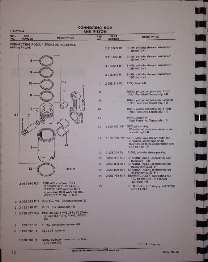 International Dresser td7e Service manual