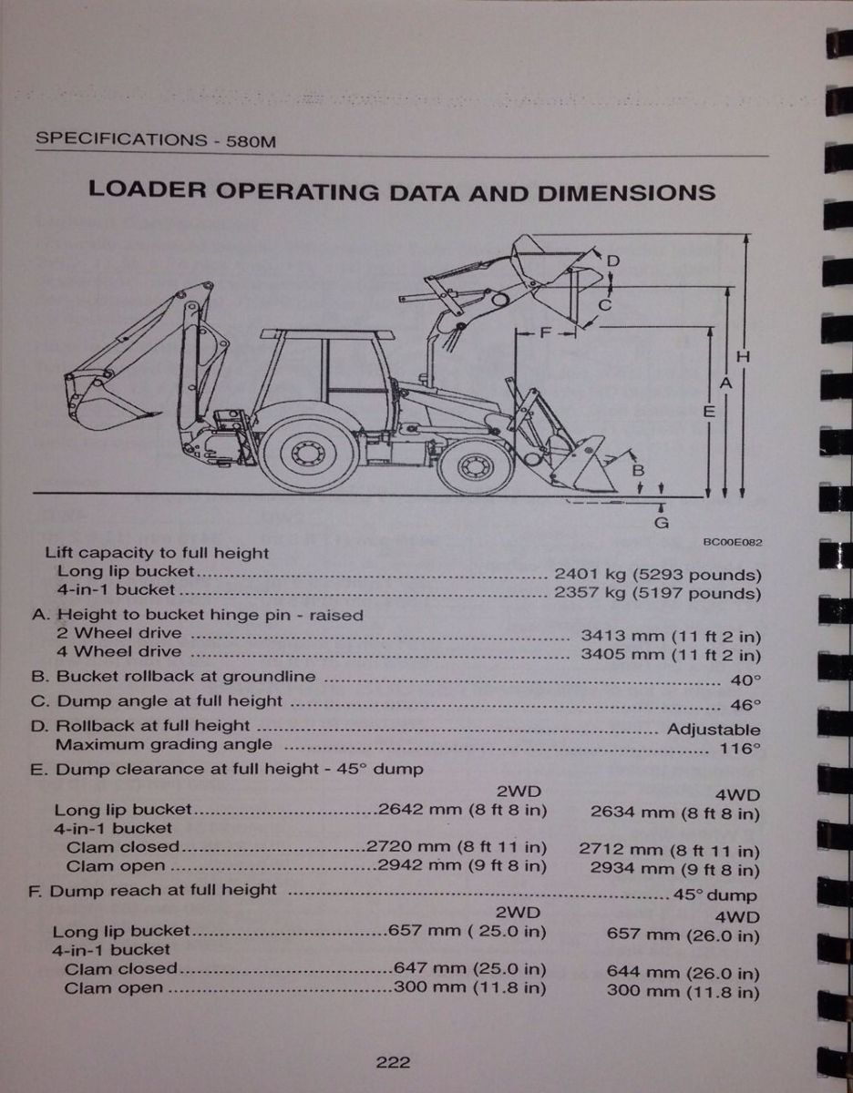 International Backhoe Loader Manual