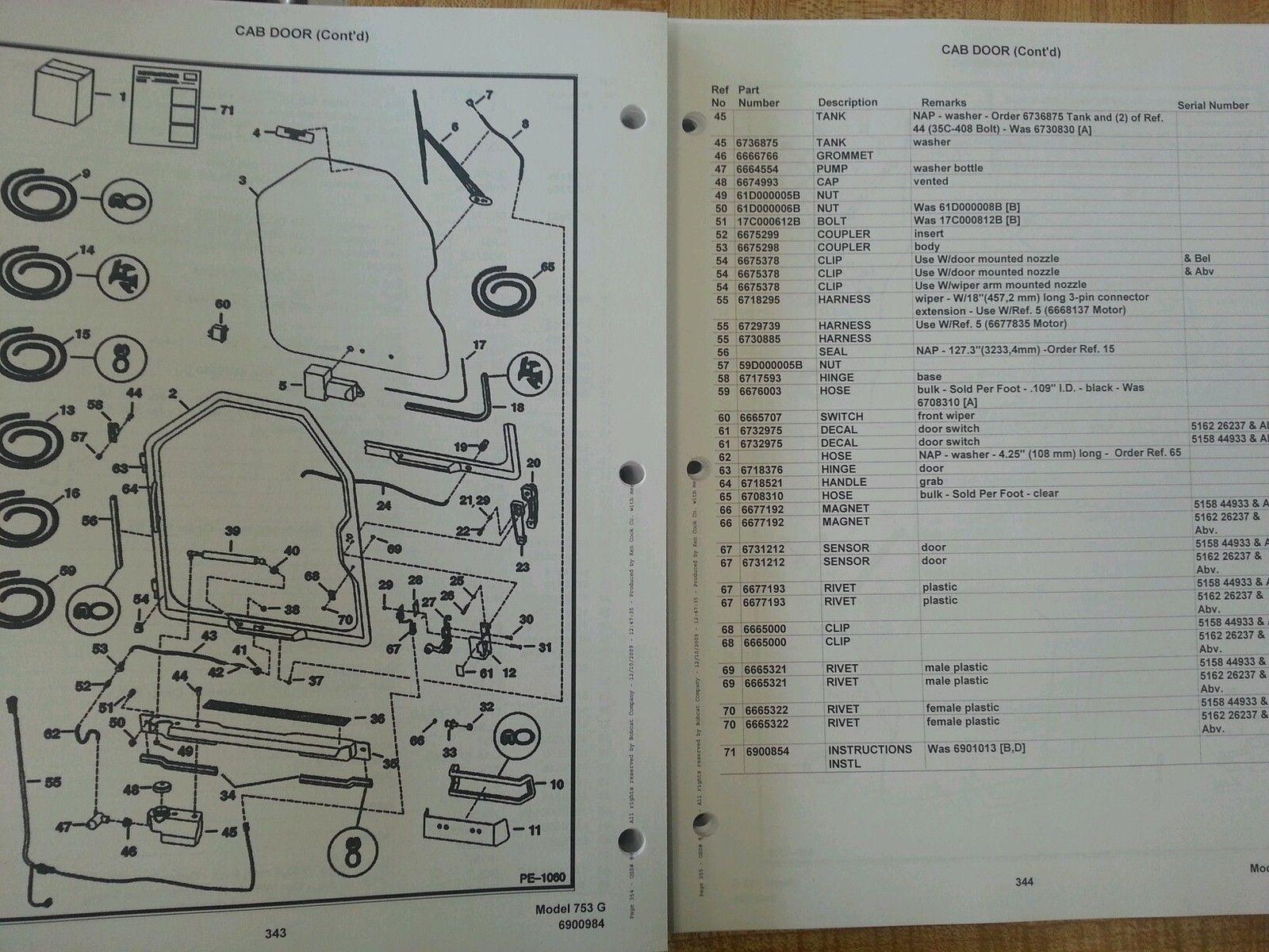 753 bobcat repair Manual