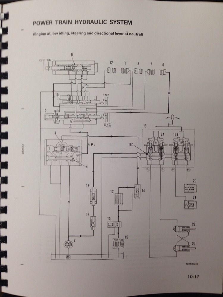 Komatsu D20 Wiring Diagram | Wiring Diagram