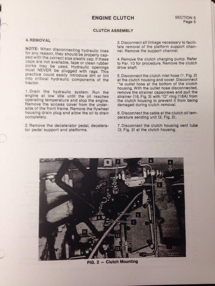 International dresser 530c Manual