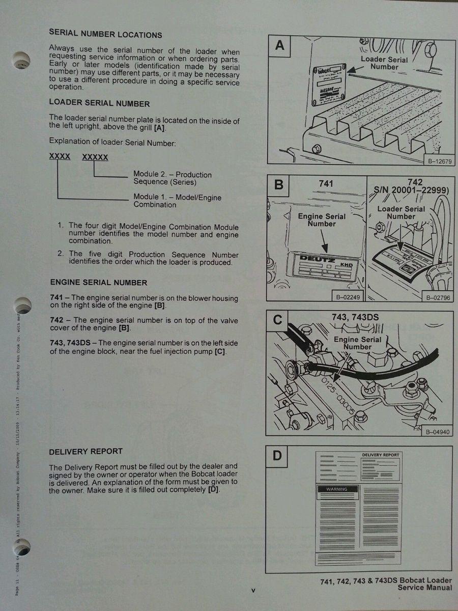 Free Bobcat 642 Manual