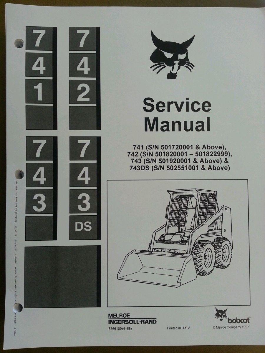 743 Bobcat Manual