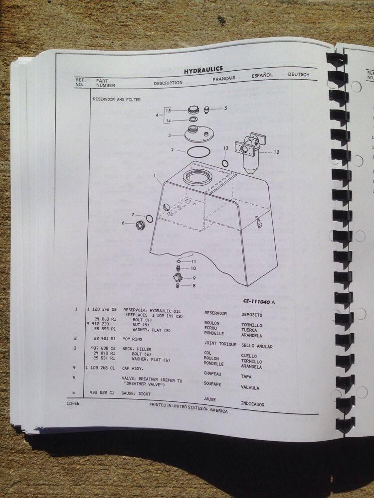 Parts Manual for john deere 318 z255 deck Lift Kit