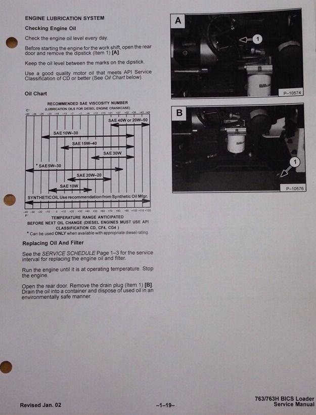Free 763 Bobcat Service manual