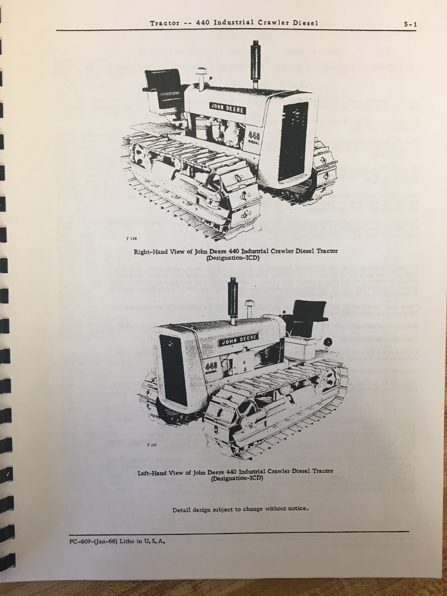 Jd 440 crawler manual