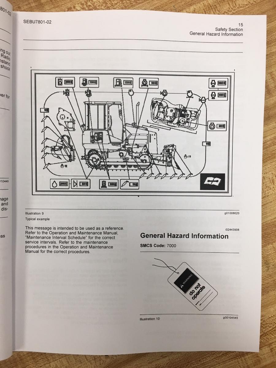Caterpillar D4g maintenance manual