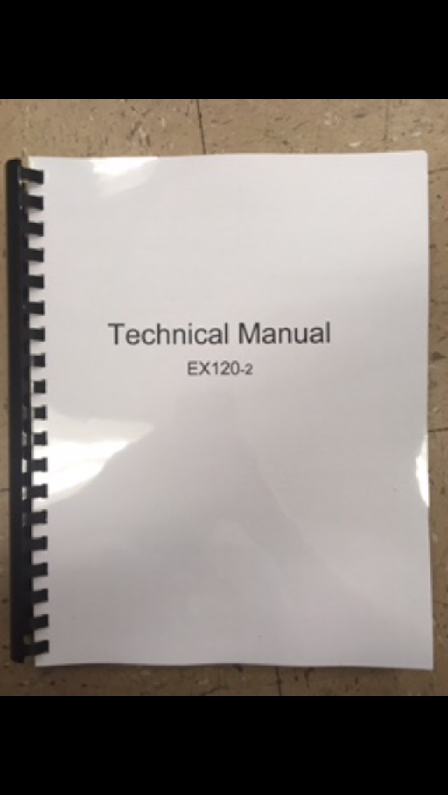 hitachi ex120 2 2 vol complete service manual with workshop and rh finneyparts us
