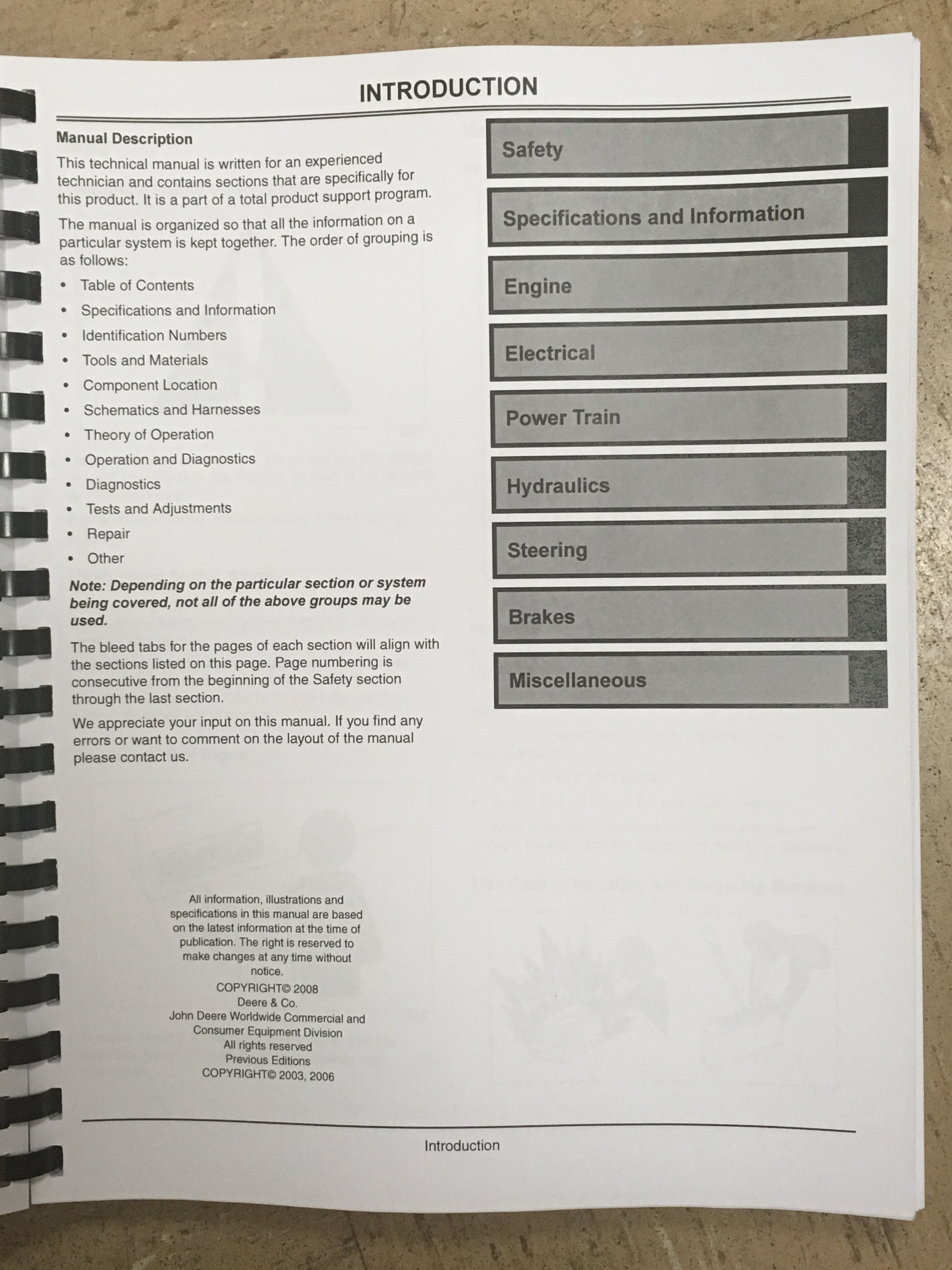 john deere 2210 tractor technical manual tm2074 jd book