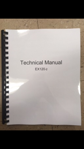 Hitachi EX120-2 2 VOL COMPLETE Service Manual with Workshop and Technical Manuals KM105E03 Book