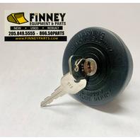 Locking Fuel Cap Case 480D 480E 480F loader backhoes