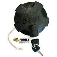 Volvo locking Fuel Cap with keys 1189577 A35 A45 L120C Truck & Loader