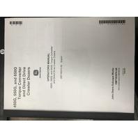 John Deere 450G 550G 650G Crawler Dozer Operator Manual JD OMT163974 Book