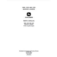 John Deere 310D Parts Manual JD PC2321 Book