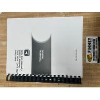 John Deere 410B 410C 510B 510C Operation and Test Manual JD TM1468 Book