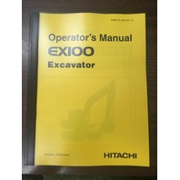 Hitachi EX100 Excavator Operators Manual EM12E14 SN 21753+