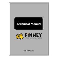 John Deere F1145 Front Mower Technical Manual JD TM1519 Book