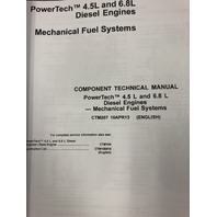 John Deere Powertech 4.5L 6.8L Diesel Engine Mechanical Fuel Systems Technical Manual JD CTM207 Book