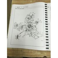 CASE 580 Super M Loader Backhoe Parts Manual 76091 580SM Book CATALOG