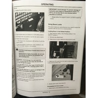 John Deere 260 270 Skid Steers Operators Manual JD OMKV11663 Book