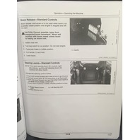 John Deere 325 328 Skid Steer Operators Manual JD OMT205051 Book