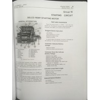 John Deere 510 Loader Backhoe Technical Manual JD TM1039 Book