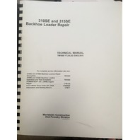 John Deere 310SE 315SE Backhoe Loader Repair Technical Manual JD TM1609 Book
