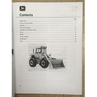 John Deere 644B Loader Operations Manual JD 644 B OMT68749 Book