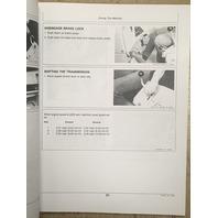 John Deere 555A Crawler Loader Operators Manual JD OMT75124 Book