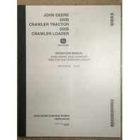 John Deere 550B 555B Crawler Loader Operation Manual JD OMT81348 Book