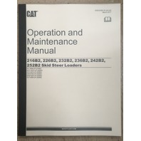 Caterpillar 216B2 226B2 232B2 236B2 242B2 252B2 Operation and Maintenance Manual CAT SEBU8385-04 Book