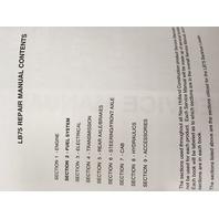 FORD NEW HOLLAND LB75 SERVICE REPAIR MANUAL 86618975