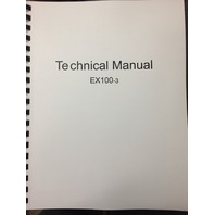 Hitachi EX100-3 Technical Manual KM134E00 Excavator Service Repair Book