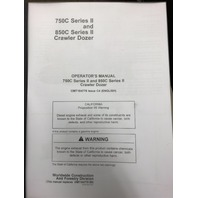 JOHN DEERE 750C 850C SERIES 2 II OPERATORS MANUAL OPERATION MAINTENANCE OMT184778