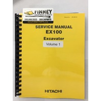 Hitachi Excavator Service Manual EX100 Plain KM-088-00 Early