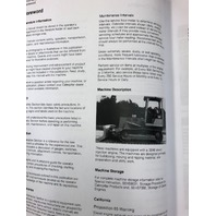 CAT D3C D4C D5C SERIES 3 OPERATION MAINTENANCE MANUAL OPERATORS BOOK SEBU6731