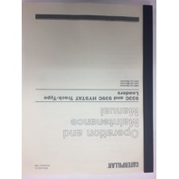 CATERPILLAR CAT 933C 939C HYSTAT CRAWLER LOADER OPERATORS MANUAL SEBU7087 4MS 5JS 6DS