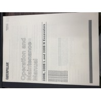 Caterpillar 320B 320BL 320BN Excavators Operation and Maintenance Manual SEBU6975 Book SEBU6975-07
