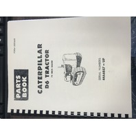Caterpillar D6 D6B Tractor Parts Manual CAT UEO35628 Book Serials 44A6857-UP