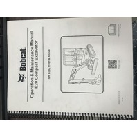 Bobcat E20 Excavator Operation & Maintenance Manual 7255004 SN B3BL11001