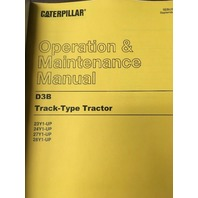 CAT CATERPILLAR D3B OPERATOR OPERATION MAINTENANCE MANUAL BOOK OWNERS DOZER