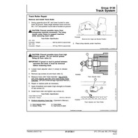 John Deere 27C ZTS 35C ZTS Excavator Repair Manual JD TM2053 Service Book